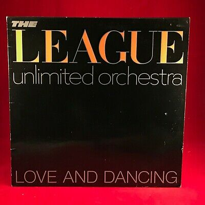 THE LEAGUE UNLIMITED ORCHESTRA Love & Dancing 1981 UK vinyl LP EXCELLENT HUMAN B