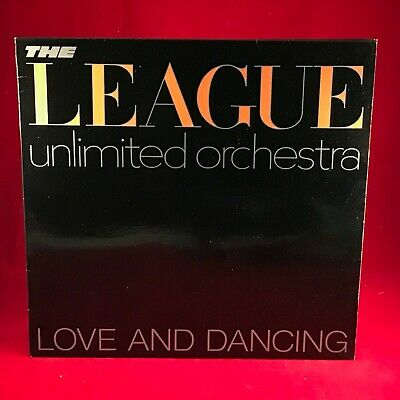 THE LEAGUE UNLIMITED ORCHESTRA Love & Dancing 1981 UK vinyl LP EXCELLENT HUMAN C