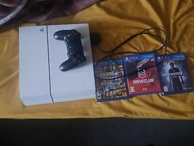 Sony PlayStation 4 500GB White Console