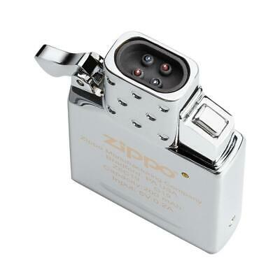 Zippo 65828, Rechargeable Arc Lighter Insert, Double Plasma Arc Beam