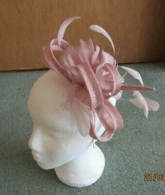 Phase Eight Confetti Pink Tiffany Fascinator Wedding, Races, Occasion