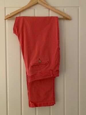 Joules Pale Red Hesford Chino Trousers Size 14 /EU 42. Good condition