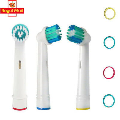 4 Pack Standard Electric Toothbrush Heads COMPATIBLE With Oral B Braun Models