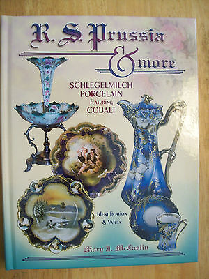 NEW R.S. Prussia Price Guide COLLECTOR BOOK Schlegelmilch Cobalt