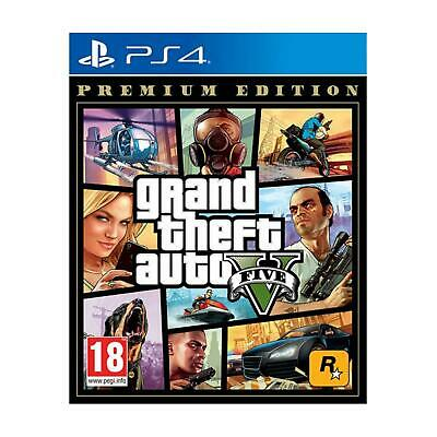 Grand Theft Auto 5 GTA V Premium Edition ES Multilingua [ Playstation 4 | PS4 ]
