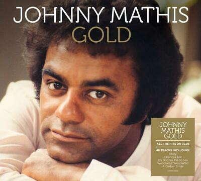 JOHNNY MATHIS GOLD 3 CD SET (49 TRACK COLLECTION) (Released March 13th 2020)