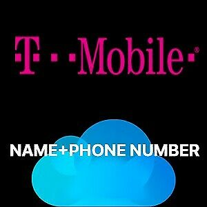 Apple ID / iCloud Owner Info - T-Mobile USA IMEI Only 1-5 Days