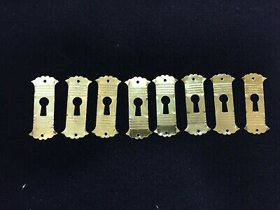 Lot Of 8 Keyhole Covers