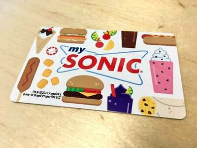 $50 On Sonic drive in Gift Card