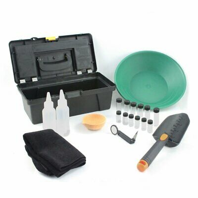 ASR Outdoor 21pc Complete Gold Mining Prospecting Combo Kit with Bonus Gold Pan