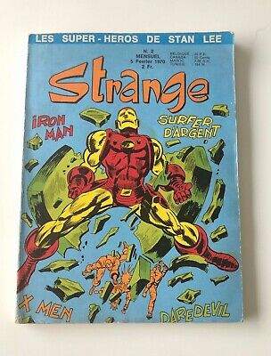 STRANGE N° 2 LUG 1970 EO TBE voir PHOTOS No FANTASK MARVEL