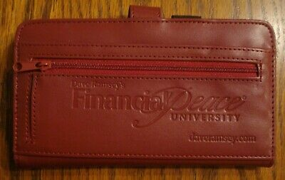 Dave Ramsey Financial Peace University Fpu Designer Wallet Cash Envelope System 11 99 Picclick