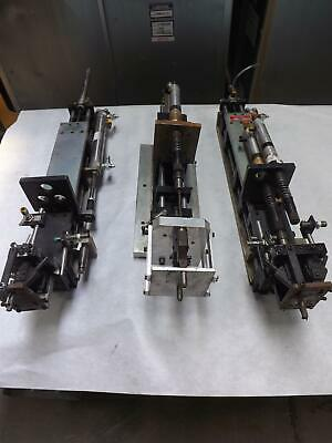 Lot of 3 Assembly Automation Industries XLT-5, XLT-7 Assemblies T45275