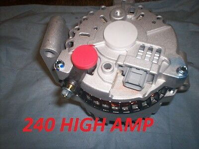 2003 2004 2005 Ford F Super Duty Pickup Excursion 240 High AMP ALTERNATOR 6.0L