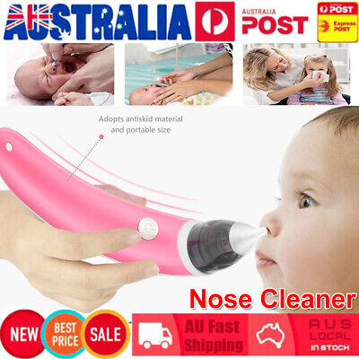 Baby Nasal Aspirator Electric Safe Hygienic Nose Cleaner Snot Sucker For baby #