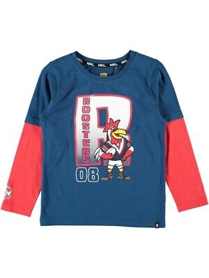 NEW ROOSTERS Nrl Toddlers L/S Tee by Best&Less