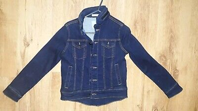 Boys Jasper Conran Hooded Dark Denim Coat Age 10 BNWOT