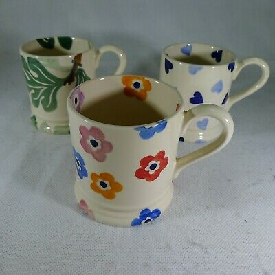 Three EMMA BRIDGEWATER  Mugs (SLD120)