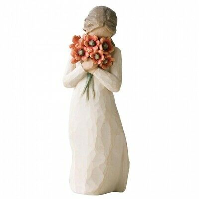 New Surrounded by Love Figurative Sculpture - Willow Tree Collectable