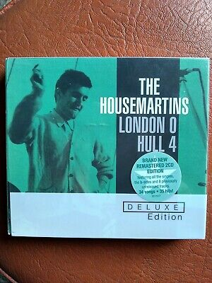 The Housemartins London 0 Hull 4 Album Cover Stretched Canvas Wall Art