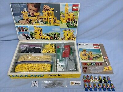 Custom Replacement Lego Yellow Castle 6075 375 Stickers Decal