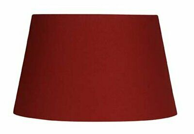2047519-Oaks Lighting, Paralume in cotone, tessuto, rosso