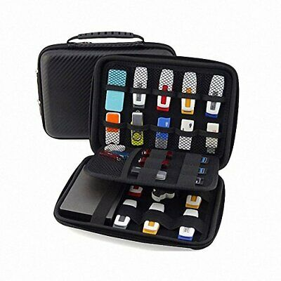 GUANHE USB Drive Organizer Eletronis Aessories Case Shuttle with Cable Tie  H...