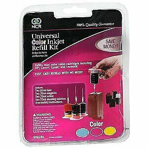 NCR Universal Color Inkjet Refill Kit 1 Eah by NCR