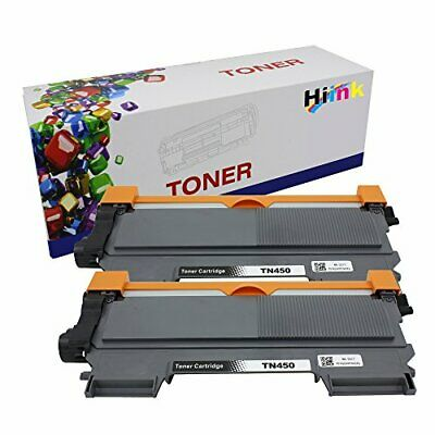 Hi Ink 2 Paks Compatible Toner Cartridge Replaement for Brother TN450 High Yi...