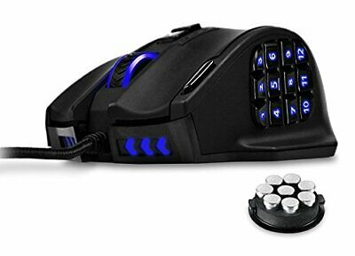 Gaming Mouse UtehSmart Venus 16400 DPI High Preision Laser MMO Gaming Mouse  ...