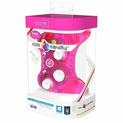 PDP Rok Candy Wired Controller for PC Pink Palooza 904004NAPK