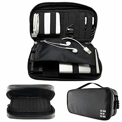 Zero Grid Eletronis Travel Organizer  Cord Cable and Aessories Case Shadow