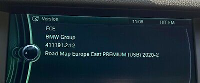 BMW 2020-2 Maps Carte Navi Europe USB + FSC Premium Next Evo Route Move Motion