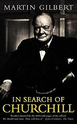 (Good)-In Search of Churchill (Paperback)-Gilbert, Martin-0006374328