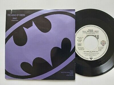 """PRINCE THE ARMS OF ORION / I LOVE U IN ME GERMAN 7"""" vinyl"""