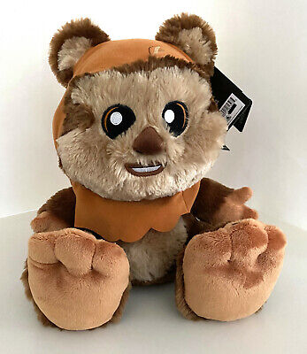 Disney Parks Star Wars Wicket the Ewok Big Feet Plush Doll 10 inch NEW VERY CUTE