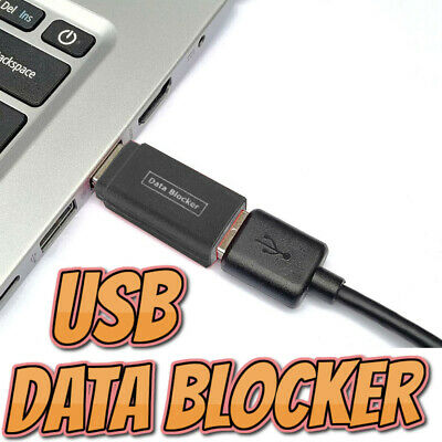 USB Data Blocker 3rd Gen Physically Stops Data Transfer Allows Charging PPSCA01