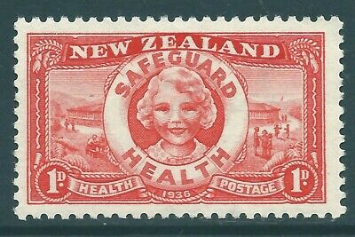 NEW ZEALAND 1936 Health stamp MNH