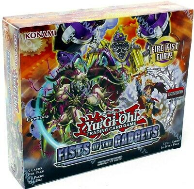 Yugioh Fists Of The Gadgets 1St Edition Booster 12 Box Case Blowout Cards