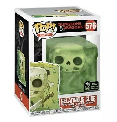 Funko Pop! ECCC OFFICIAL STICKER Dungeons & Dragons Gelatinous Cube