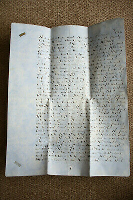 Fulford, Stone, Staffordshire, 1864, Land, Indenture, 19th.c Shelley.