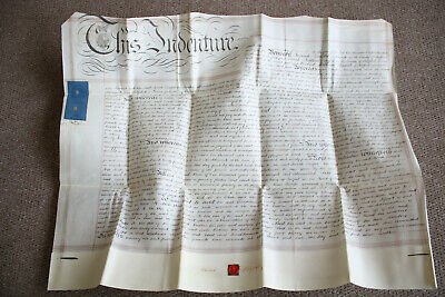 Fulford, Staffordshire, White Field, 1855,  Land Indenture, Batkin.