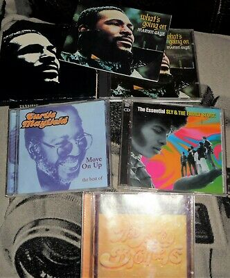 Marvin Gaye /Sly & The Family Stone/Isley Brothers/Curtis Mayfield-SOUL ‎JOB LOT