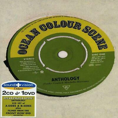 Anthology [2 CD And 1 DVD], Ocean Colour Scene, Good Box set,PAL