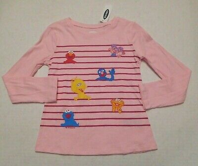 NWT Girls Old Navy Sesame Street Pink Top sz 3t