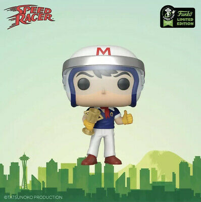 2020 Funko Pop ECCC OFFICIAL CON STICKER Speed Racer With Trophy Presale