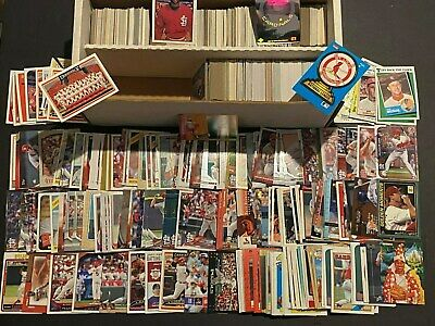St. Louis CARDINALS Baseball Card Collection Lot of 1400 Cards Stars ROOKIES