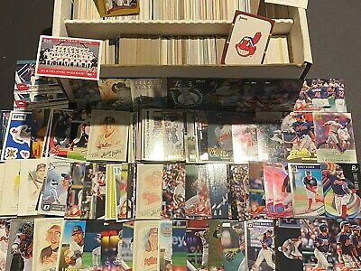 Cleveland INDIANS Baseball Card Collection Lot of 1500 Cards Stars ROOKIES