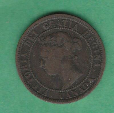 1882 H Canada One Large cent- w/ Queen Victoria, inv#10081