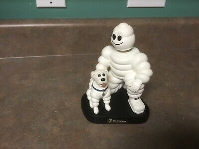 """Limited Edition, Numbered, Promotional Michelin Tires Man and Dog 7"""" Bobblehead"""